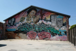 Hauser & Wirth LA Commission Mural, Artist Kim West